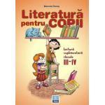 Literatura pentru copii clasele III-IV