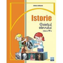 Caiet de istorie clasa a IV-a special pentru Manualul de ISTORIE