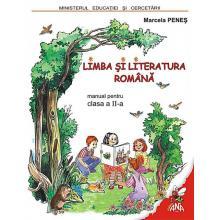 MANUAL LIMBA SI LITERATURA ROMANA clasa a II-a - hartie offset (grad de alb 90%)