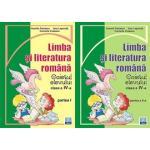 Set Caiet Limba Romana clasa a IV-a special pentru Manualul de limba romana